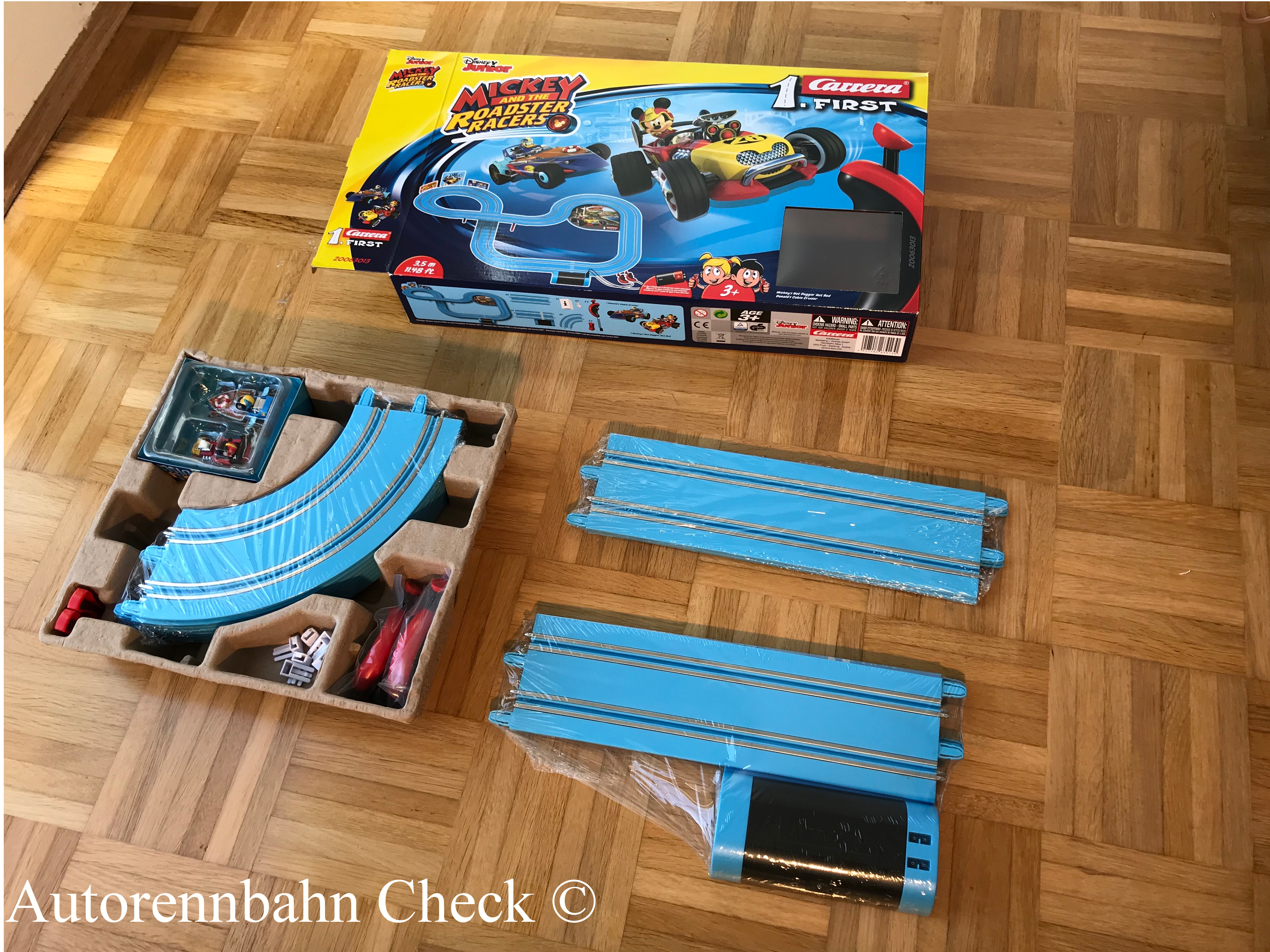 Carrera First Mickey mickey and the roadster racers Verpackungsinhlat