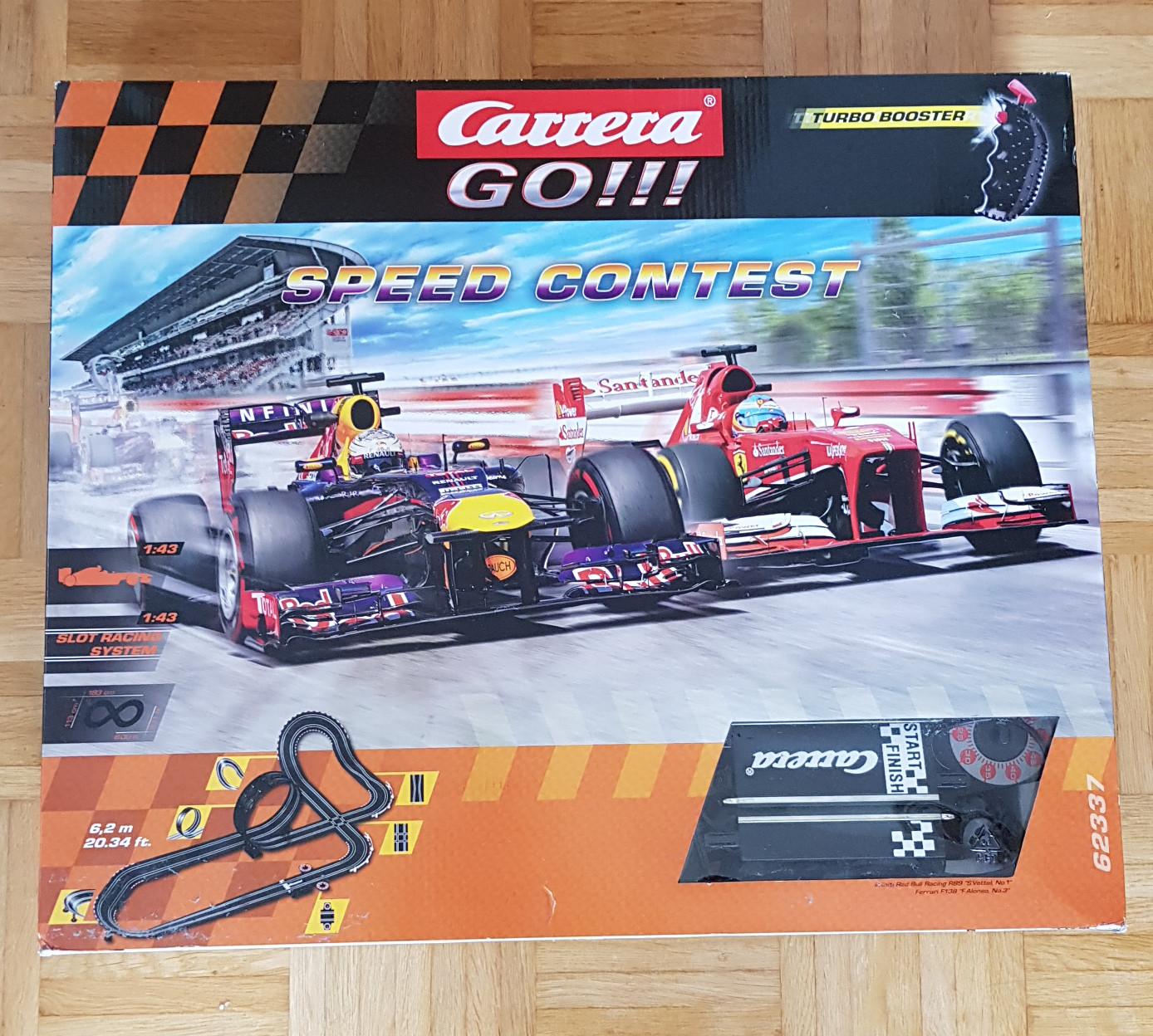 Carrera Go Speed Contest